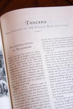 Section on Tuscany