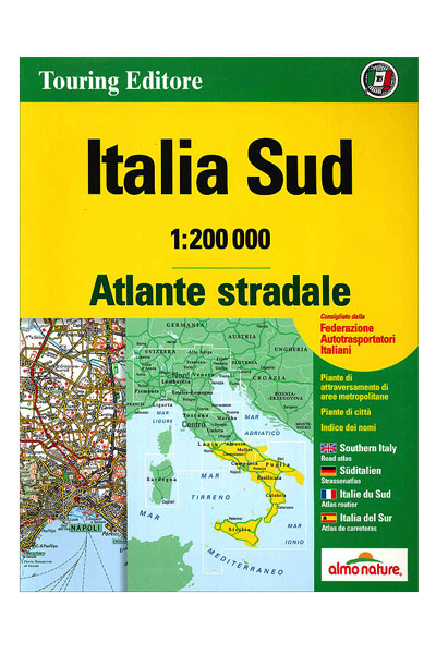 Atlante Stradale Italia Sud