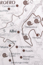 Map detail in Slow Wine guidebook