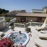 Jacuzzi View at Hotel Villa Taormina