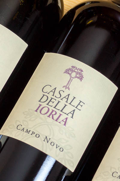 """Casale della Ioria Cesanese del Piglio """"Campo Novo"""" 2012"""