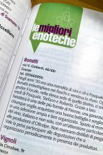 The Berebene guide also lists top enoteche (wine bars) in Italy
