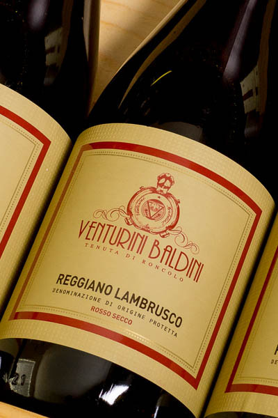 Venturni Baldini Reggiano Lambrusco on dalluva.com