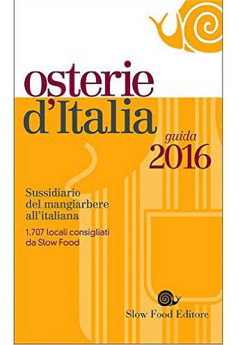 Osterie d'Italia 2016 on dalluva.com