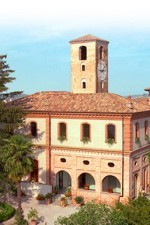 The villa of Bruno Giacosa, outside of Neive