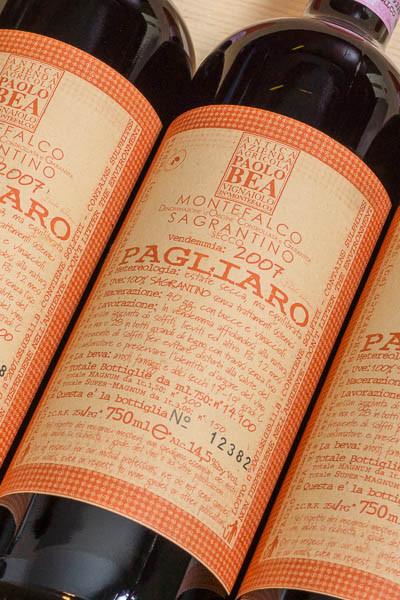 Paolo Bea Sagrantino Pagliaro Secco on dalluva.com