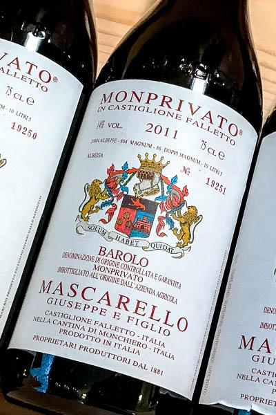Giuseppe e Figlio Mascarello Barolo Monprivato 2011 on dalluva.com