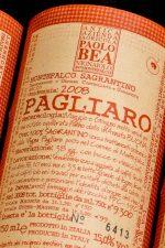 Up close and personal with Paolo Bea's Sagrantino Pagliaro Secco 2008