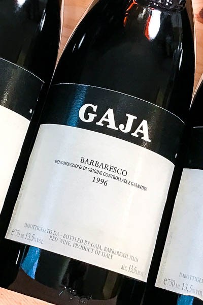 Gaja Barbaresco 1996 on dalluva.com