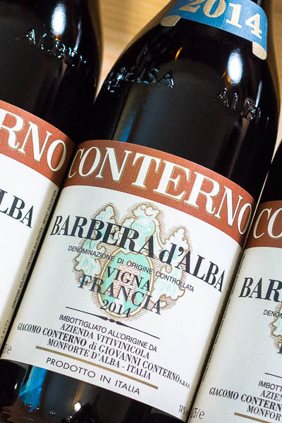 Giacomo Conterno Barbera d'Alba Vigna Francia 2014 on dalluva.com