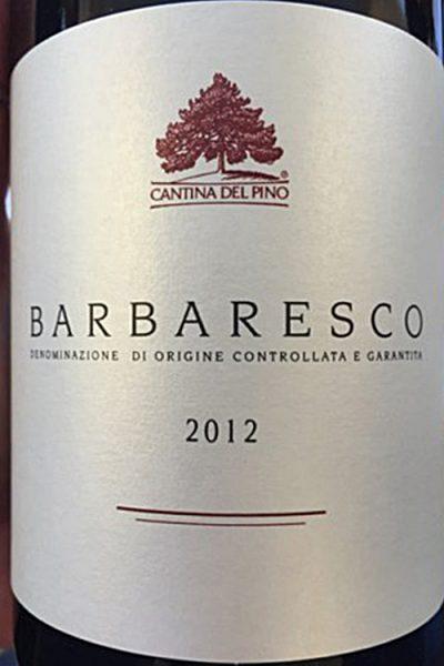 Cantina del Pino Barbaresco 2012