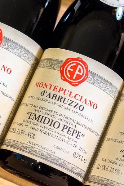 Emido Pepe Montepulciano d'Abruzzo 2014 only on dalluva.com